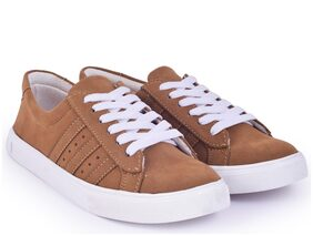 TRENDY LOOK Women Brown Sneakers