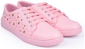 TRENDY LOOK Women Pink Sneakers
