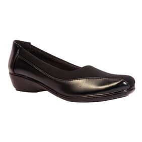 Trilokani Black Formal Shoes