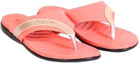 Trilokani Women Pink Sandals
