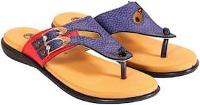 Trilokani Womens Orthopaedic + Foot massage slippers
