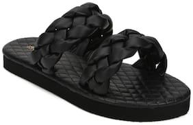 Truffle Collection Women Black Sliders
