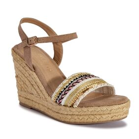 Truffle Collection Brown Wedges