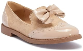 Truffle Collection Beige Flats