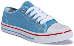 Truffle Collection Blue Casual Shoes
