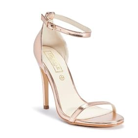 Truffle Collection Rosegold Heels