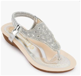 Truffle Collection Silver Sandals