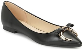 Truffle Collection Women Synthetic Solid Casual Bellies