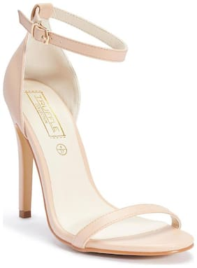 Truffle Collection Beige Heels