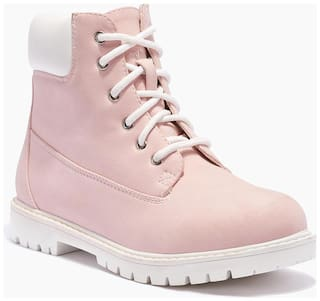 Truffle Collection Pink Boots