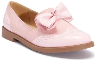 Truffle Collection Pink Flats