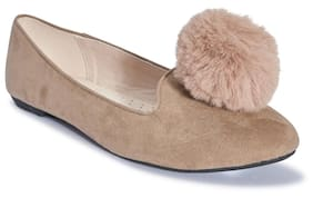 Truffle Collection Grey Flats