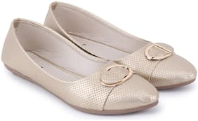 Tryfeet Women Gold Bellies