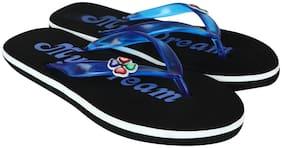 tryfeet Blue Elastic Flip Flops For Womens & Girls