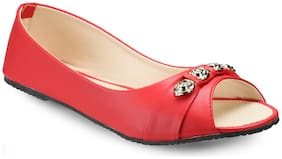 Tryfeet Women Red Bellies -
