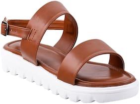 Tryfeet Women Tan Sandals