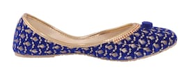 Tryfeet Women Blue Bellie