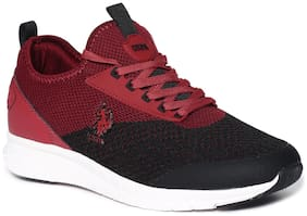 U.S. Polo Assn. Men Running Shoes ( Red )