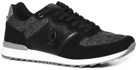 U.S. Polo Assn. Men Running Shoes ( Black )
