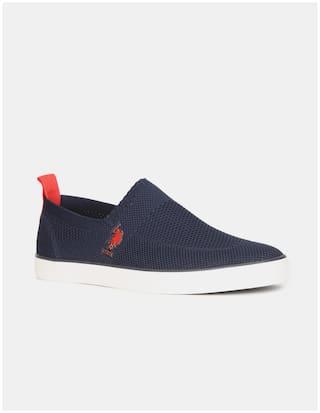U.S. Polo Assn. Men Blue Casual Shoes - 2532025179