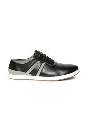 U.S. Polo Assn. Contrast Panel Textured Sneakers