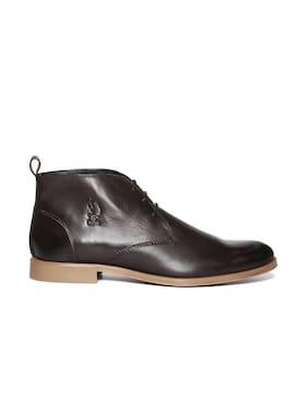 U.S. Polo Assn. Men Brown Boot - Qz0ajsxzalu