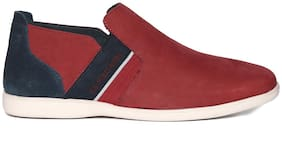 U.S. Polo Assn. Men Red Casual Shoes
