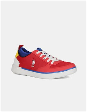 U.S. Polo Assn. Men RASTUS Running Shoes ( Red )