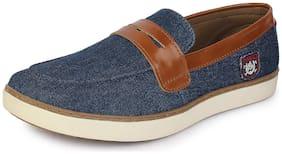 U.S. Polo Assn. Men Blue Casual Shoes