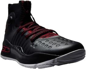 Under Armour Men Basketball Shoes ( Black )