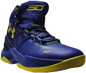 68f93588502 Under Armour Men Blue Basketball Shoes