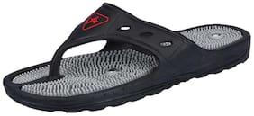 Unistar Men Black Diabetic & Orthopaedic Slippers