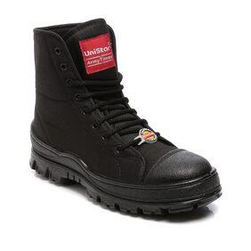Unistar Men Black Boot
