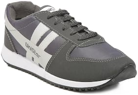 Unistar Jogging/Walking Shoes(032-Grey  Size-10)