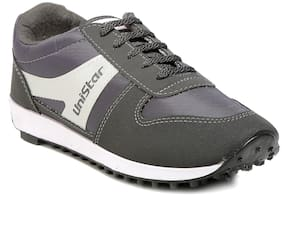 Unistar Jogging/Walking Shoes(602-Grey  Size-10)