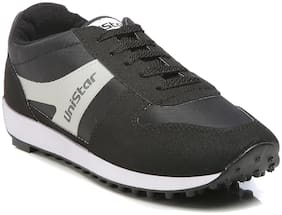 Unistar Men Walking Shoes ( Black )