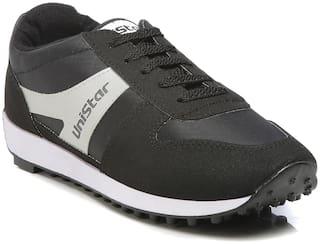 Unistar Men Walking Shoes ( Black )