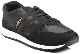 Unistar Jogging/Walking Shoes (033-Blk  Size-11)
