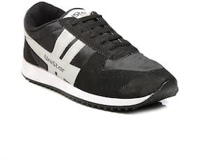 Unistar Men Black Walking Shoes