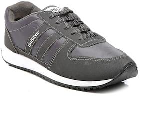 Unistar Men Walking Shoes ( Grey )