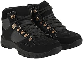 Men Black Outdoor Boots