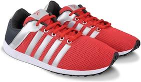 Unistar Men Running Shoes ( Red )