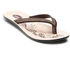 Unistar Women Brown Slippers