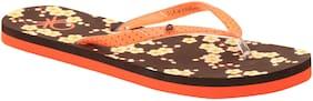 United Colors Of Benetton Women'S Flip Flop Brown-4