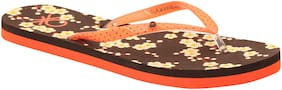 United Colors Of Benetton Women'S Flip Flop Brown-7