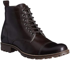 United Colors Of Benetton Men's Brown Ankle Boots