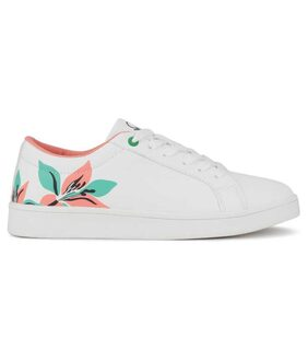 United Colors Of Benetton Women White Sneakers
