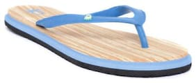 United Colors Of Benetton Women Blue Flipflops