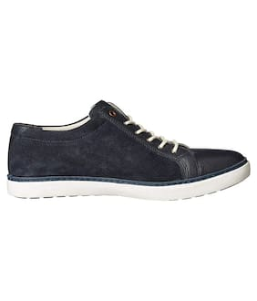 United Colors Of Benetton Men Navy Blue Sneakers