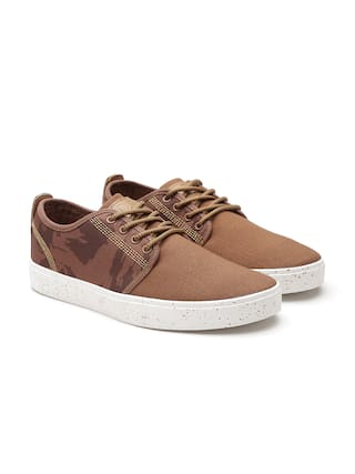 Men Shoes Benetton United Colors Casual Of Brown